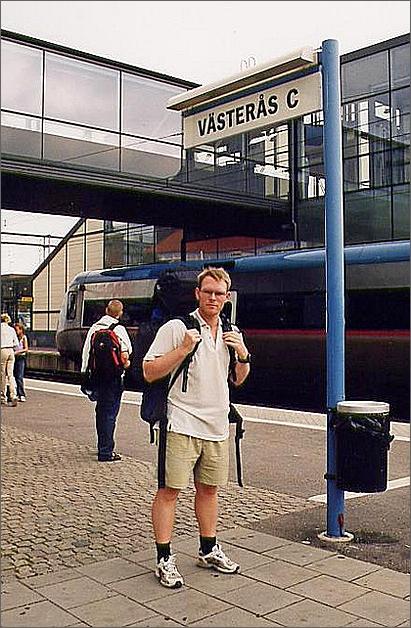 Västerås, centralstation.