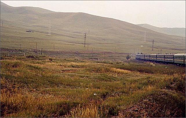 Transsibiriska järnvägen.