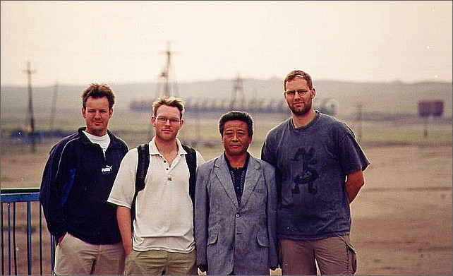 Gruppbild, Ulan Bator, Mongoliet.