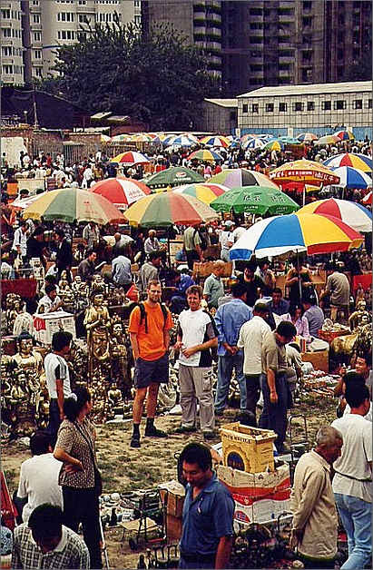 Marknad, Beijing.
