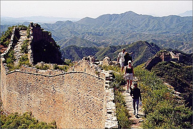 Kinesiska muren. Great Wall of China.