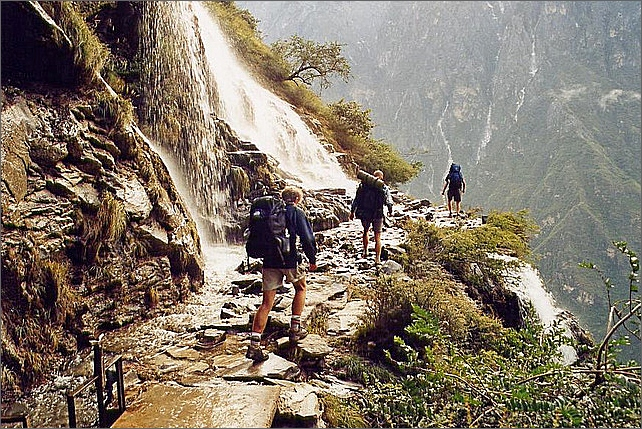 Tiger Leaping Gorge Trek, China.