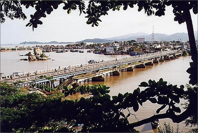 Bridge, Nha Trang, Vietnam.
