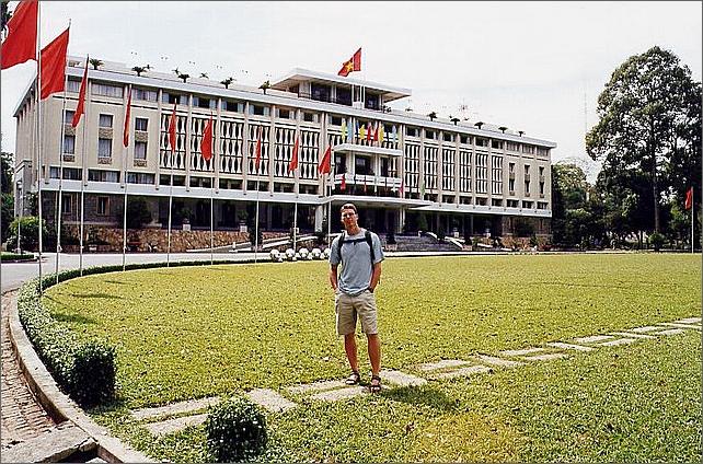 Återföreningshallen, Independence Palace, Ho Chi Minh City.