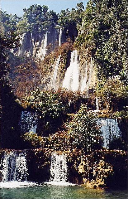 Thi Lo Su Waterfall, Thailand.