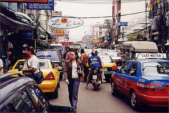 Khaosan Road, Bangkok.