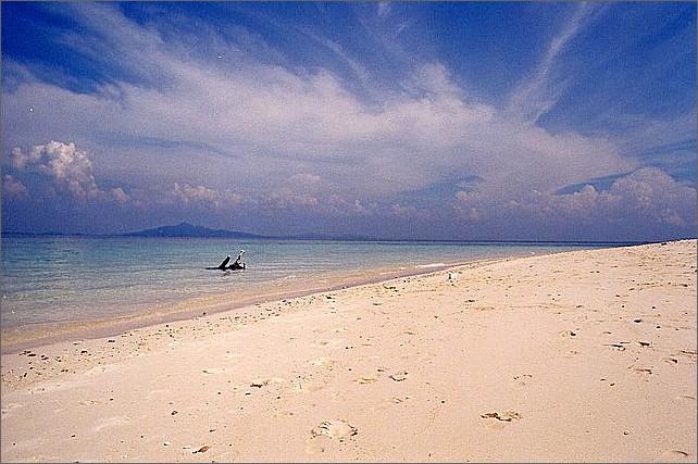 Beach, Bamboo Island, Thailand.
