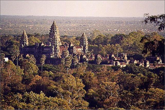 Angkor Wat Temple, Cambodia.