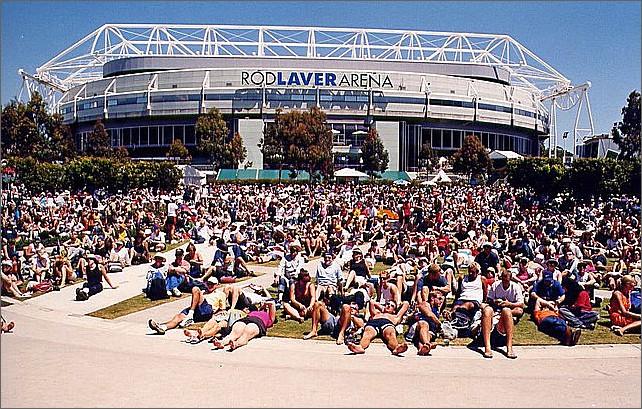 Rod Laver Arena, Melbourne, Australia.