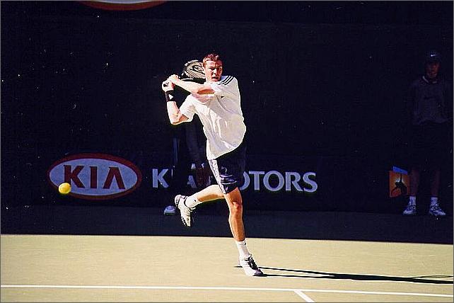 Marat Safin, Australian Open, Melbourne.
