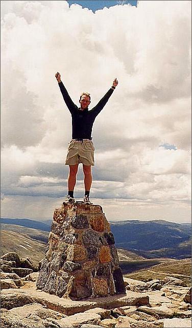 Mount Kosciuszko, Australia.