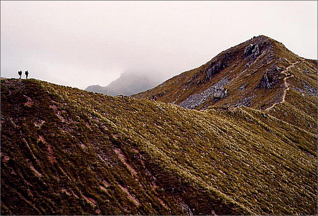 Ridge, Kepler Track, New Zealand.