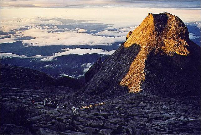 St. John's Peak, Mount Kinabalu, Borneo, Malaysia.