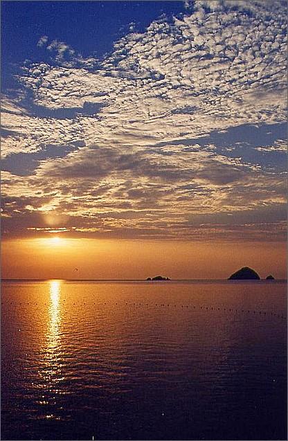 Sunset, Perhentian Islands, Malaysia.