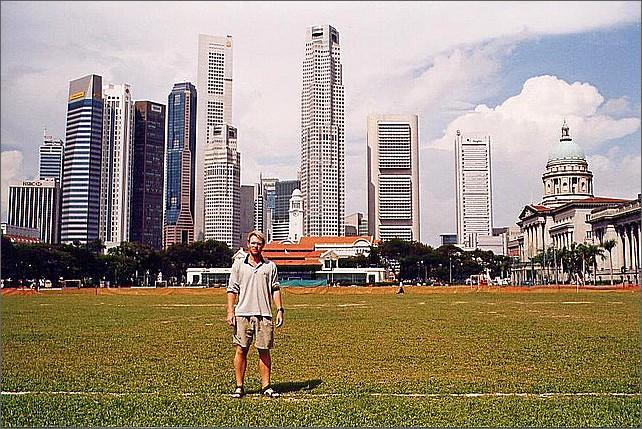 Padang, Singapore.