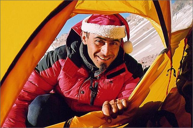 Guiden Pablo på julafton.