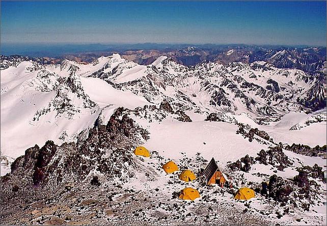 Camp 3 Berling 5800 meter.
