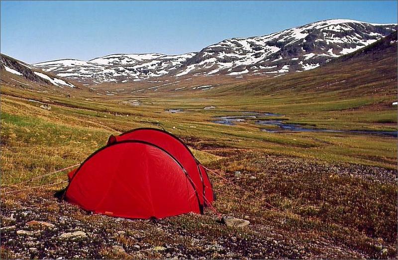 Camping i Syterskalet.