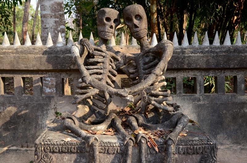 Sala Kaew Ku, Nong Khai, Thailand.