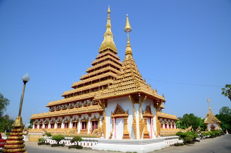 Phra Mahathat Kaen Nakhon, Khon Kaen.