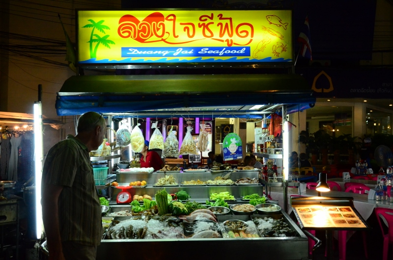 Hua Hin Night Market.