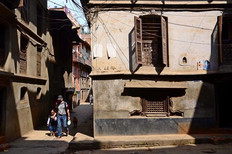 Gatubild, Kathmandu, Nepal.