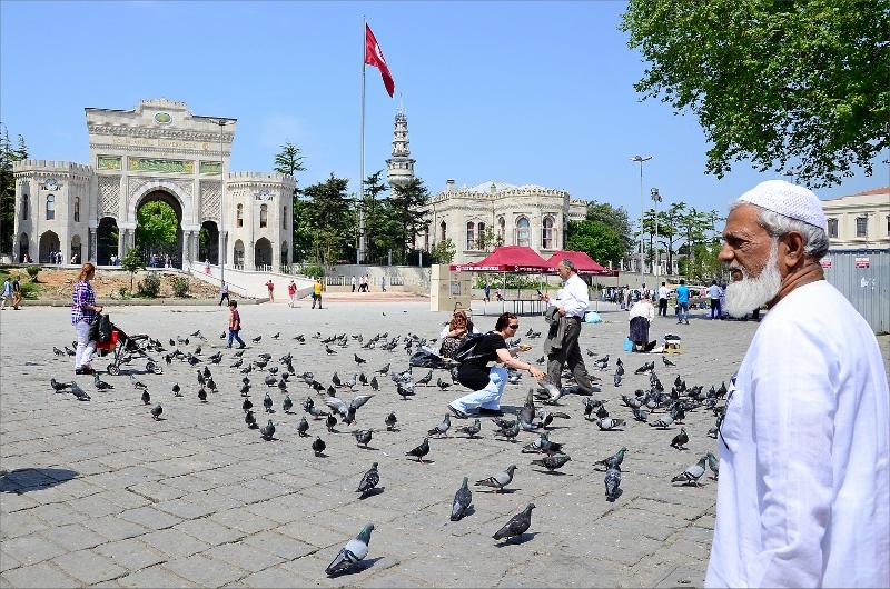 Beyazit Square.