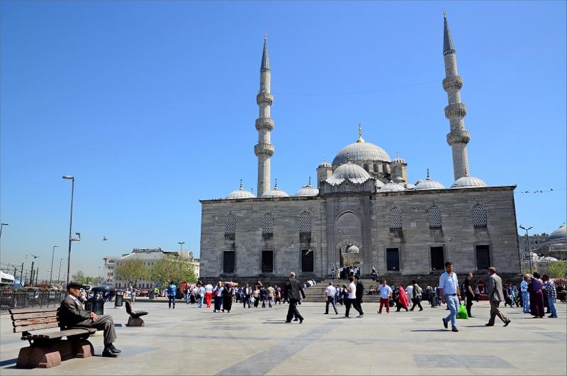 New Mosque byggdes på 1600-talet.
