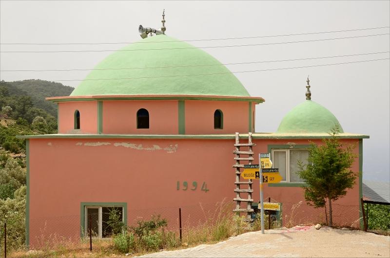 Den relativt nya mosken i Bel.
