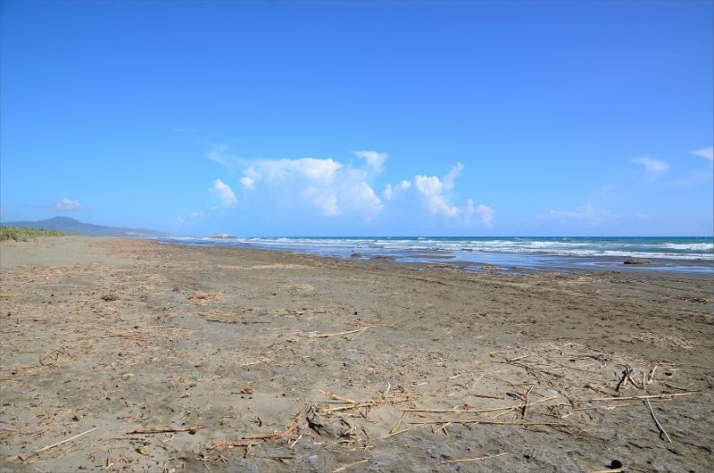 Patara Beach är 14 km lång och Turkiets längsta sandstrand.