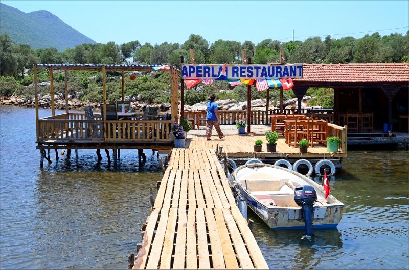 Aparlai Restaurant där jag tog dagens siesta.