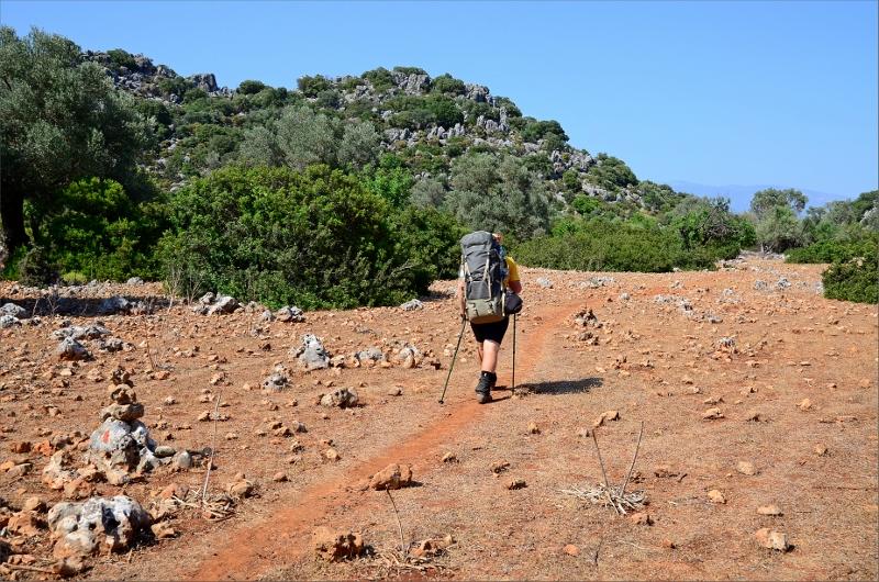 Lätt vandring strax efter Kaleköy.