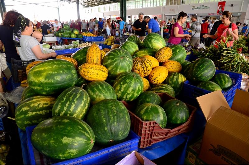 Fredagsmarknad i Demre.