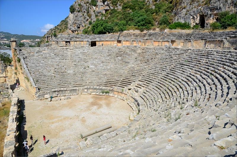 Teatern i Myra.