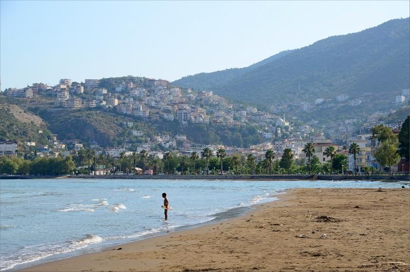 Finike Beach.