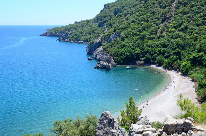 Olympos Beach.