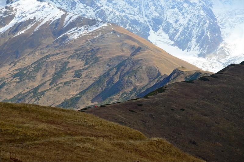 Chkhunderi Pass.