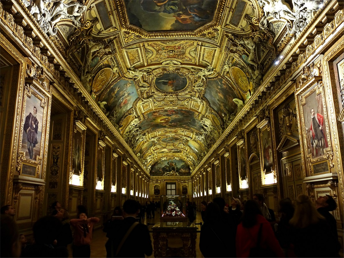 17. Galerie d'Apollon (kronjuveler), rum 705, Louvre museum.