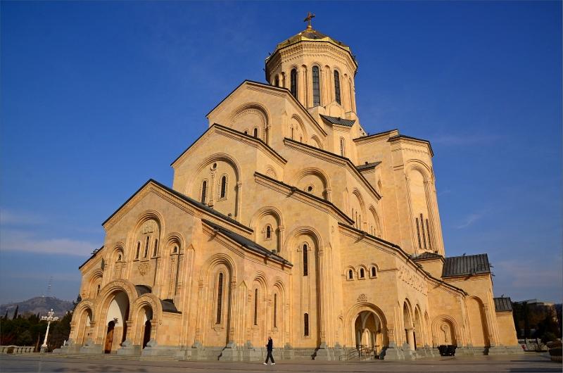 5. Tsminda Sameba Cathedral, Tbilisi.
