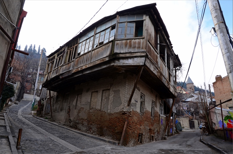 19. Tbilisi Old Town.